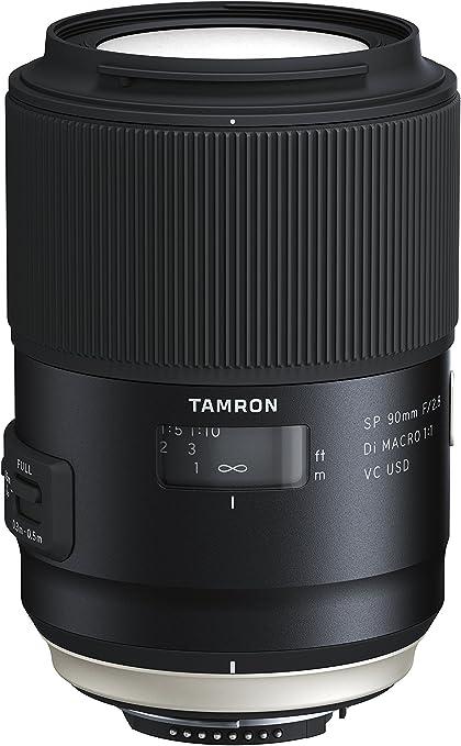 Tamron SP AF 90 mm F/2.8 Di VC USD Macro 1:1: Amazon.es: Electrónica