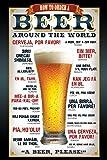 empireposter - Beer - How to order - Größe (cm), ca. 61x91,5 - Poster, NEU -