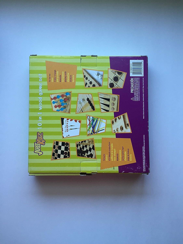Amazon.com: Just Kidz 10 in 1 Wood Jame Set: Toys & Games