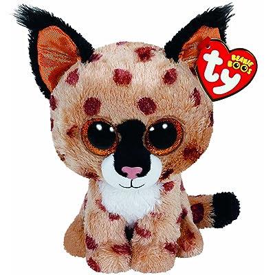 TY Beanie Boo Plush - Buckwheat the Lynx 15cm: Toys & Games