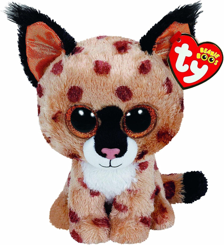 Alaska Stuffed Animals, Amazon Com Ty Beanie Boo Plush Buckwheat The Lynx 15cm Toys Games