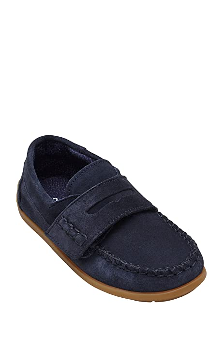 Next Niños Mocasines (Niño pequeño) Corte Estándar Azul Marino EU 26.5: Amazon.es: Zapatos y complementos