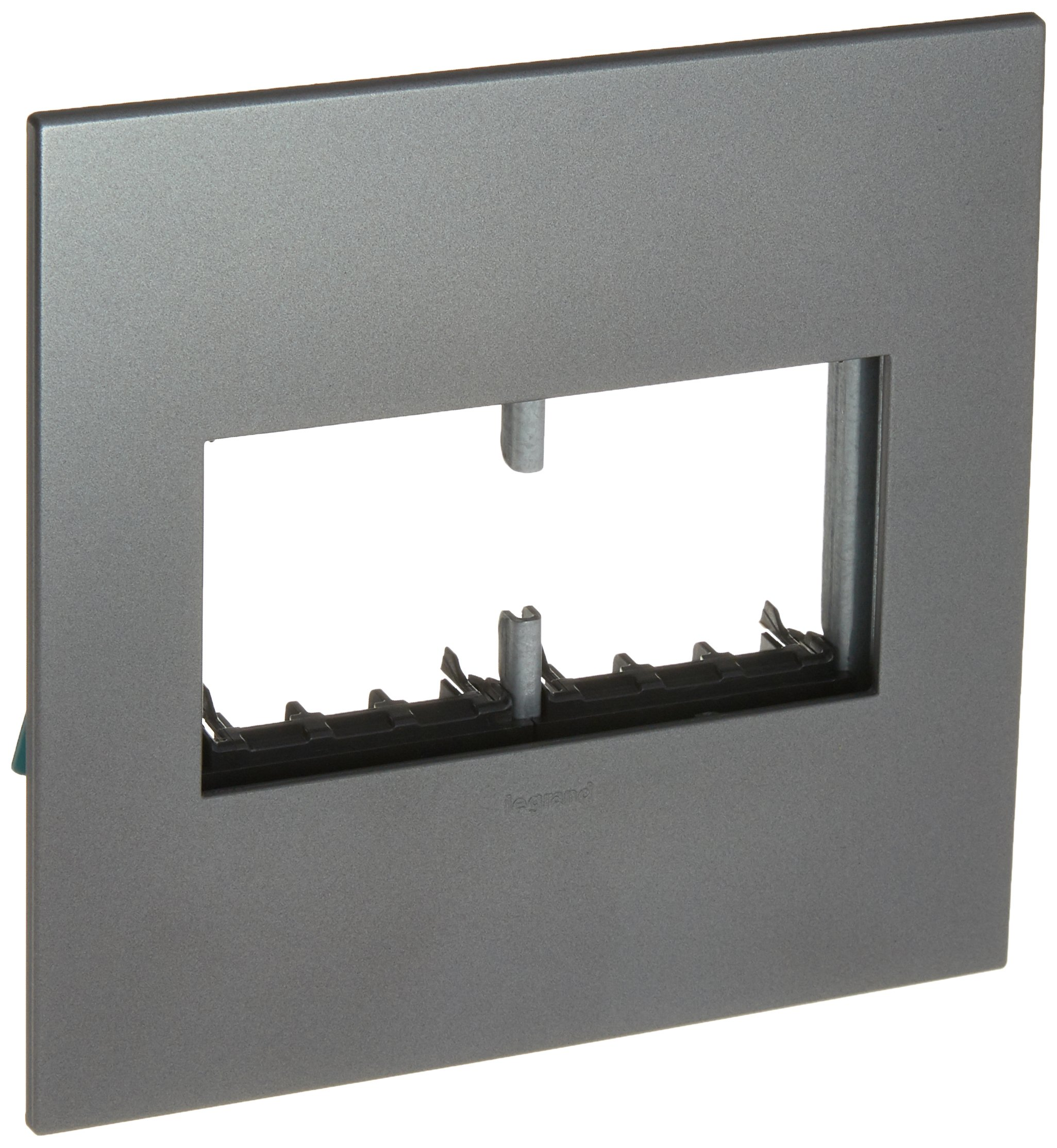 PASS & SEYMOUR AWP2GMG4 Adorne 2 Gang Magnesium Wall Plate by Pass & Seymour (Image #1)