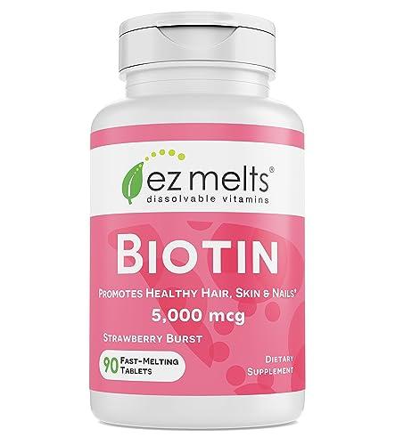 EZ Melts Biotin for Hair