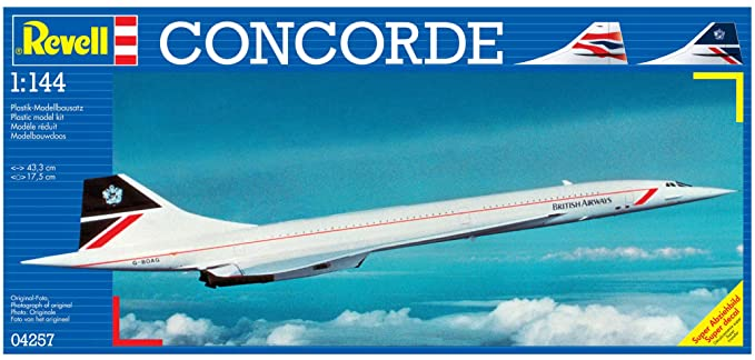 Amazon.com: Revell Alemania Concorde Airliner Modelo Kit ...