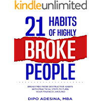 21 HABITS OF HIGHLY BROKE PEOPLE: Break Free From Destructive Habits With Practical Steps To Turn Your Finances Around (English Edition)