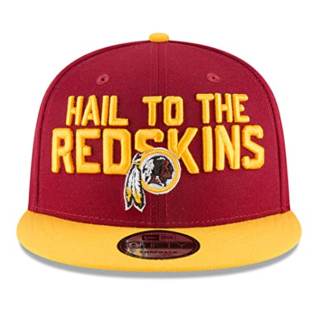 35152dcbd8834 Image Unavailable. Image not available for. Color  New Era Washington  Redskins 2018 NFL Draft Spotlight Snapback 9Fifty Adjustable Hat ...