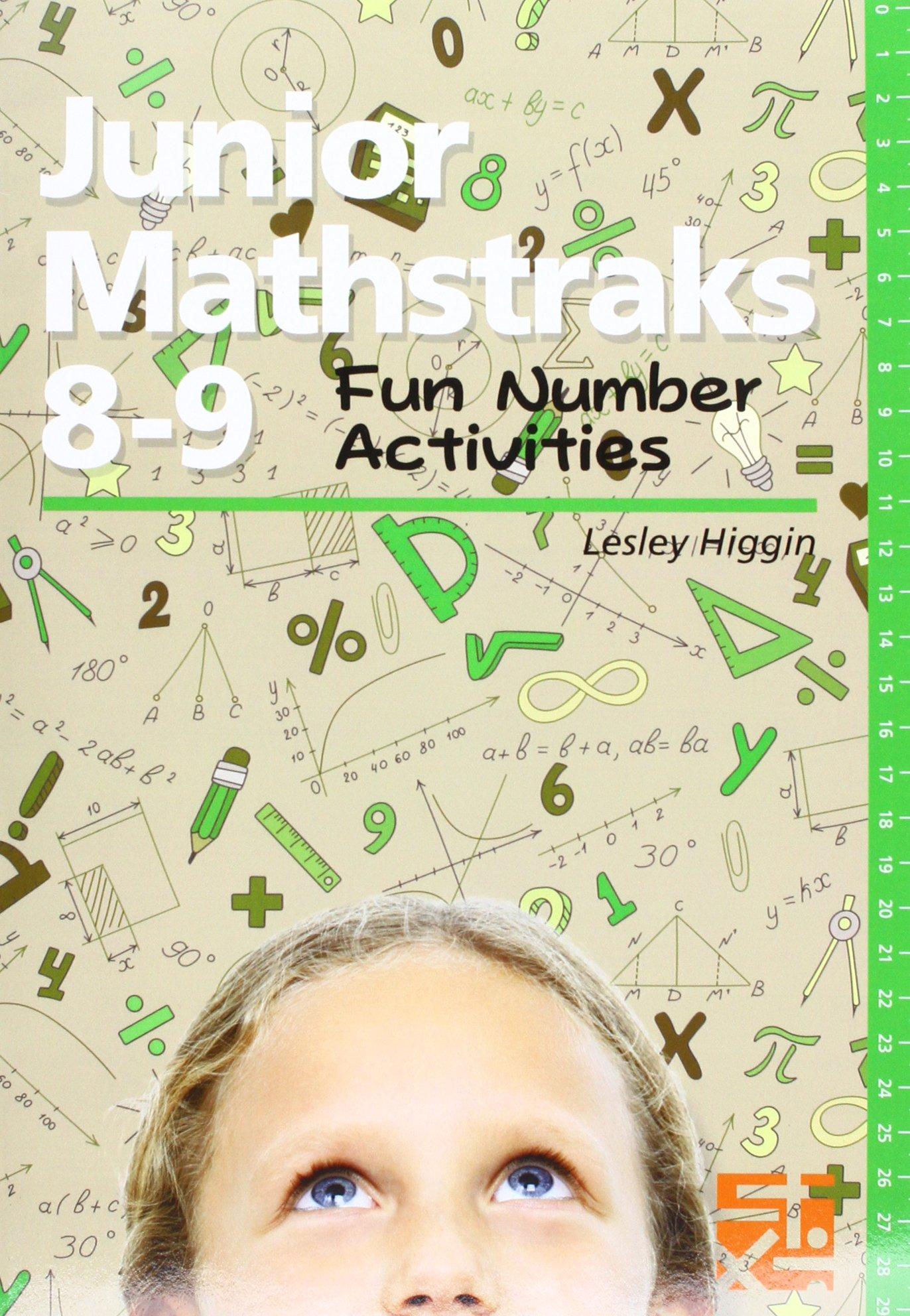 Junior Mathstraks 8-9: Fun Number Activities pdf epub