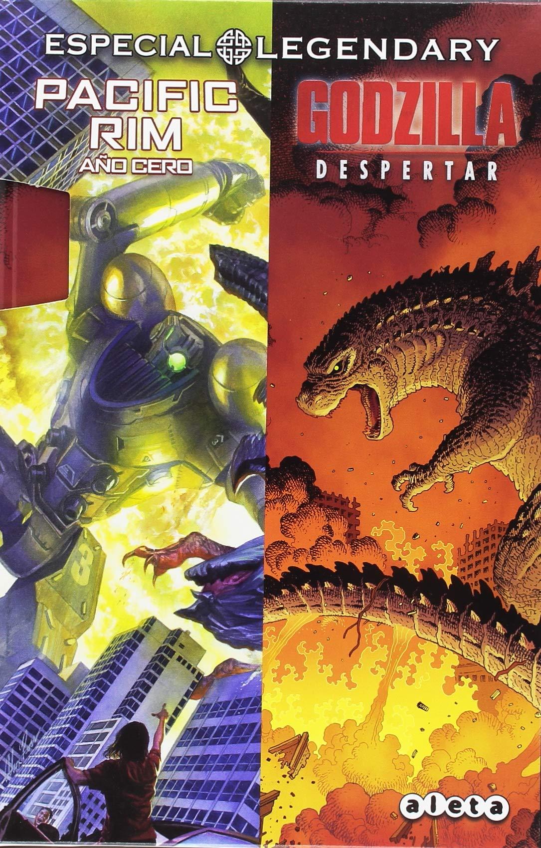 Estuche Legendary (Pacific Rim Y Godzilla): Amazon.es: Guillermo Del Toro: Libros