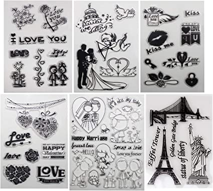 STAMPENDOUS SSC1238 / Clear Stamps Love Always