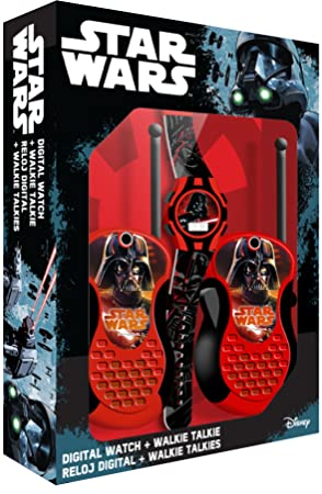 Star Wars Set Reloj y walkie-talkies (Kids SW92336)