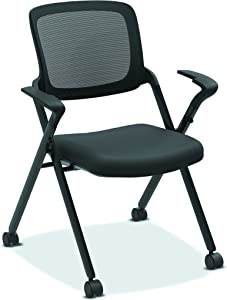 HON Assemble Mesh Back Nesting Chair - Stacking Chairs, Pack of 2