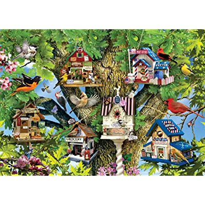 Ravensburger Bird Village 1000 Piece Jigsaw Puzzle for Adults – Every Piece is Unique, Softclick Technology Means Pieces Fit Together Perfectly: Toys & Games