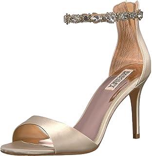9501695c72e57b Amazon.com  Badgley Mischka Women s Hooper Heeled Sandal  Shoes