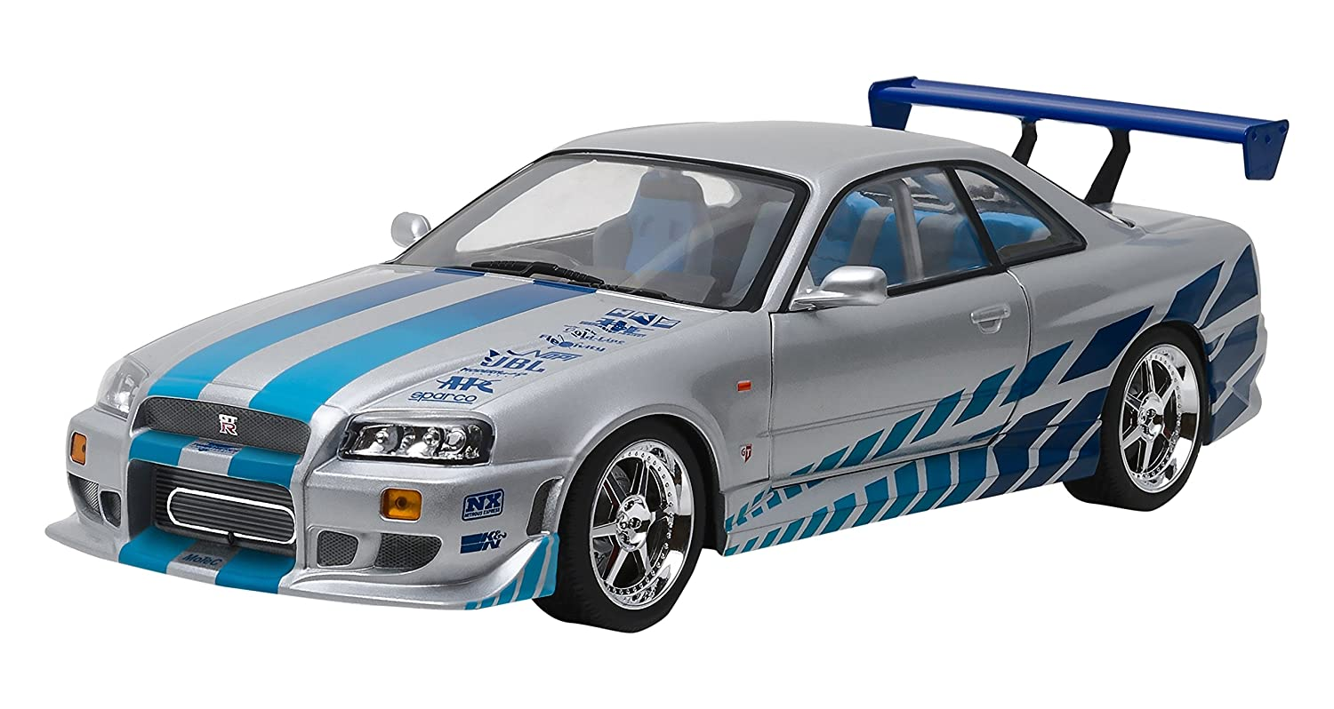 Amazon greenlight 118 scale artisan collection fast amazon greenlight 118 scale artisan collection fast furious 2 fast 2 furious 2003 1999 nissan skyline gt r r34 vehicle toys games vanachro Gallery