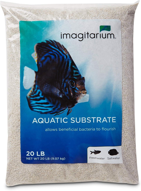 Amazon.com : Imagitarium White Aquarium Sand, 20 LBS ...