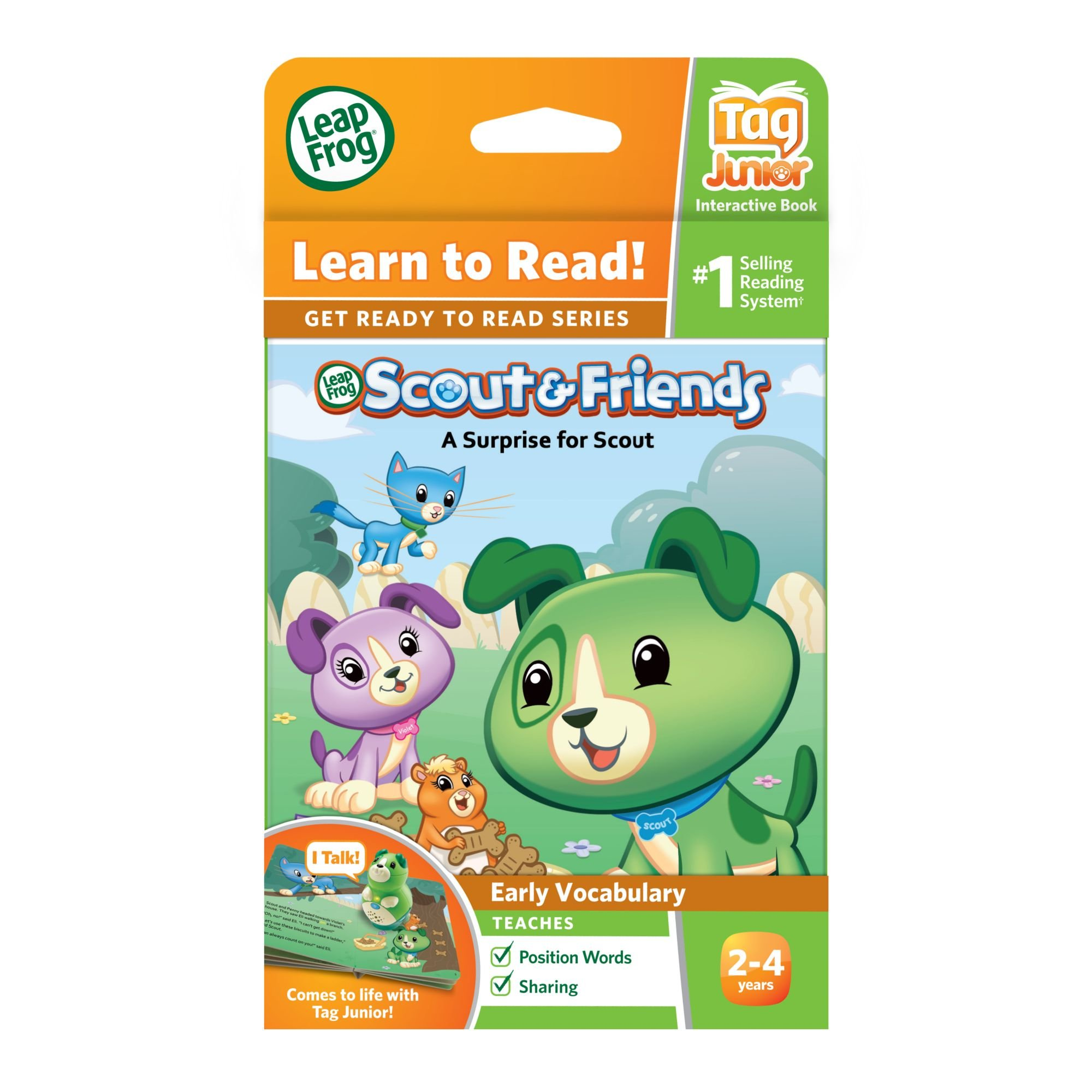 LeapFrog Tag Junior Book Scout And Friends: A Surprise for Scout (works with LeapReader Junior) by LeapFrog (Image #4)