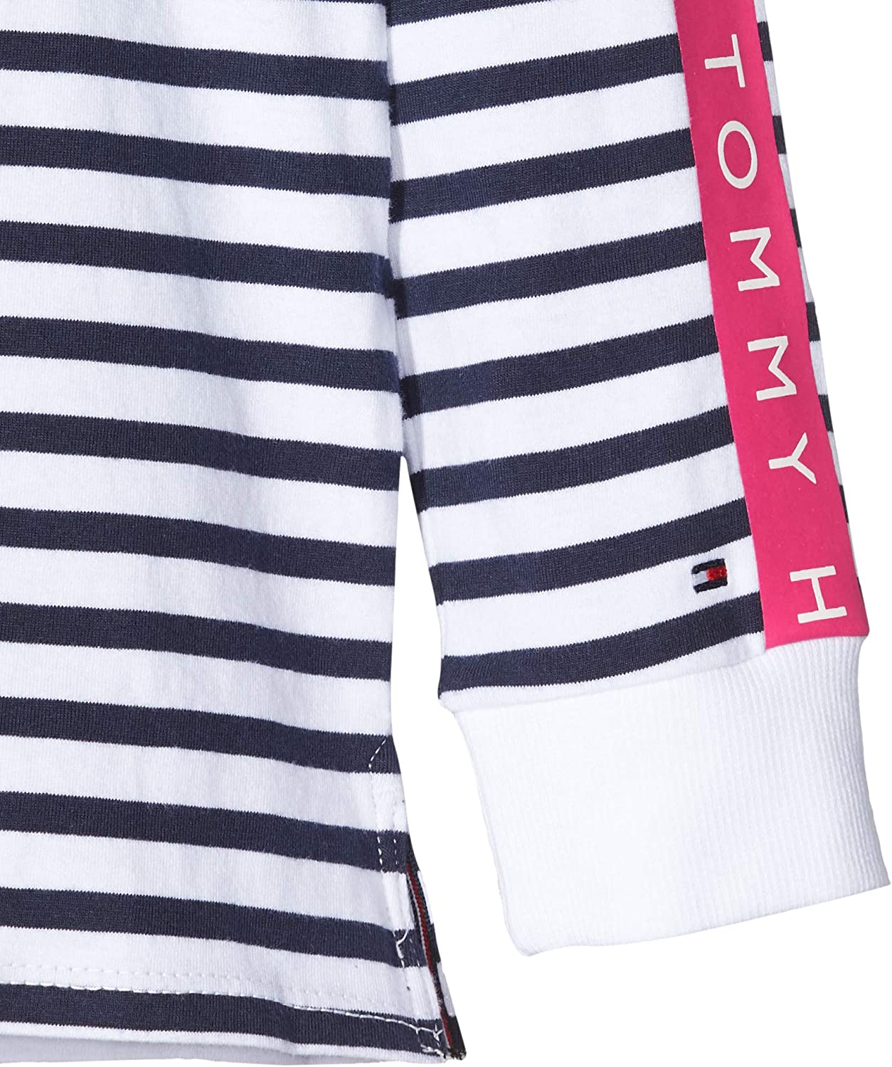 Tommy Hilfiger Nautical Stripe Tee L//S T-Shirt Fille
