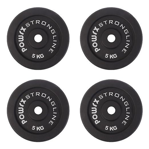 4 opinioni per Dischi pesi ghisa 20 kg set (4 x 5 kg)