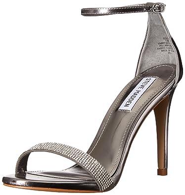 88c8b9fc1d Amazon.com: Steve Madden Women's Stecy-S Heeled Sandal: Shoes