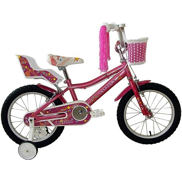 FabricBike Kids - Bicicleta con Pedales para niño y niña, Ruedines ...
