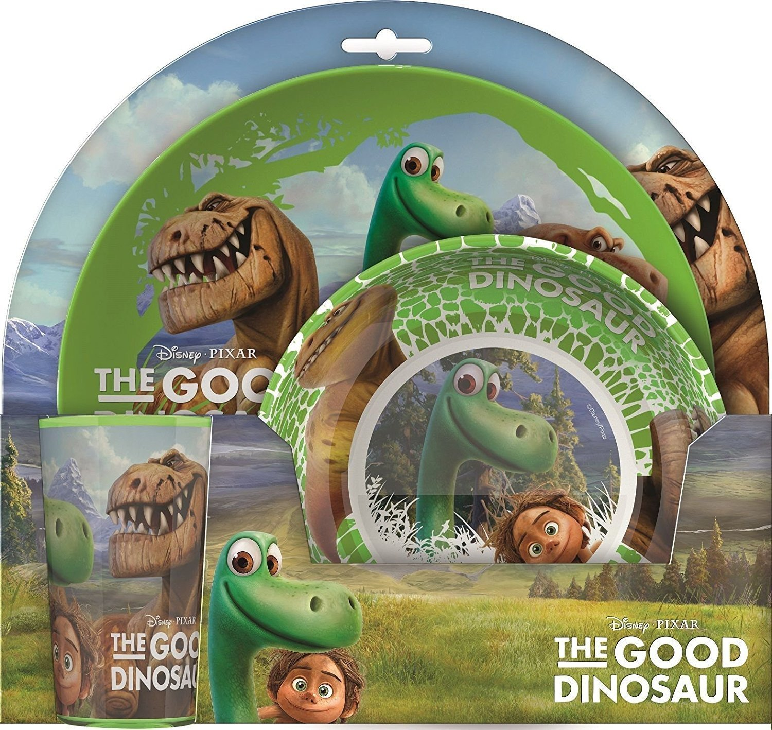 Little Helper Nbba 127673 de Good Dinosaur Toddler Meal Set, Multi-Colour Little Helper Ltd NBBA-127673-DE