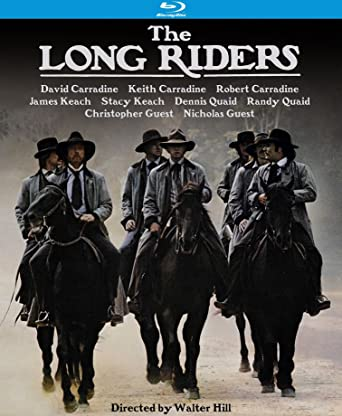 The long riders David Carradine vintage movie poster