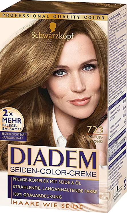 Schwarzkopf Diadem 723 - Tinte para el pelo, color rubio ...