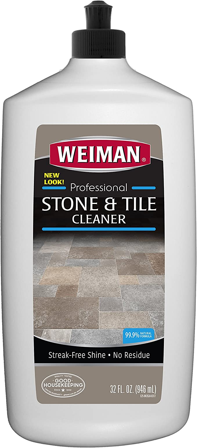 Weiman Stone Tile And Laminate Cleaner 32 Ounce Professional Tile Marble Granite Limestone Slate Terra Cotta Terrazzo And More Stone Floor Surface