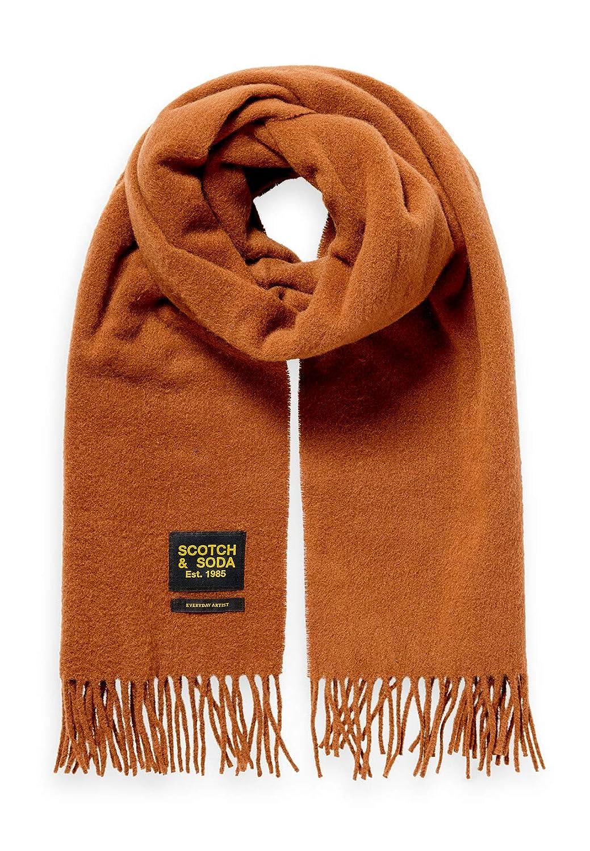 Scotch /& Soda Herren Classic Woven Wool Scarf Schal