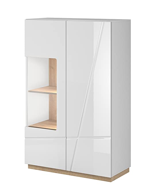 Suvero Design Highboard Sideboard Vitrine Aludra Kommode