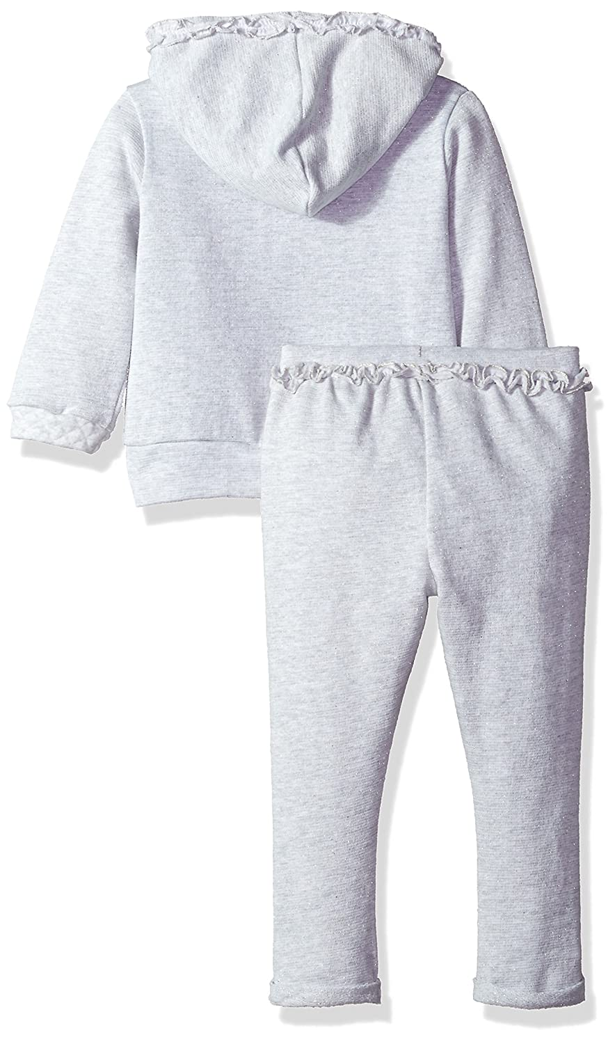 U.S Polo Assn Girls Toddler 2 Piece French Terry Set