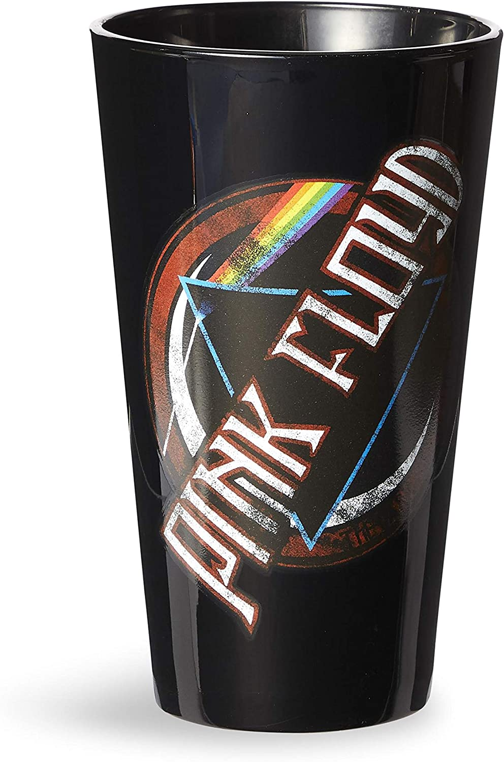 OFFICIAL Pink Floyd 'Dark Side of the Moon' PREMIUM Pint/Beer Glass - Novelty Drinking Glasses Kids/Adults Gifts Toys (16oz)