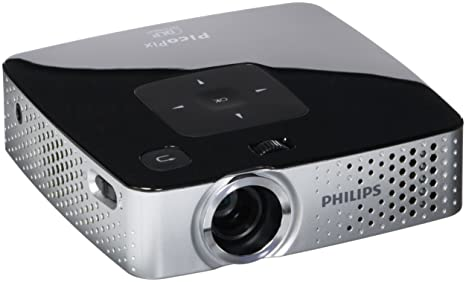 Amazon.com: Philips ppx3417 Smart proyector de bolsillo, 170 ...