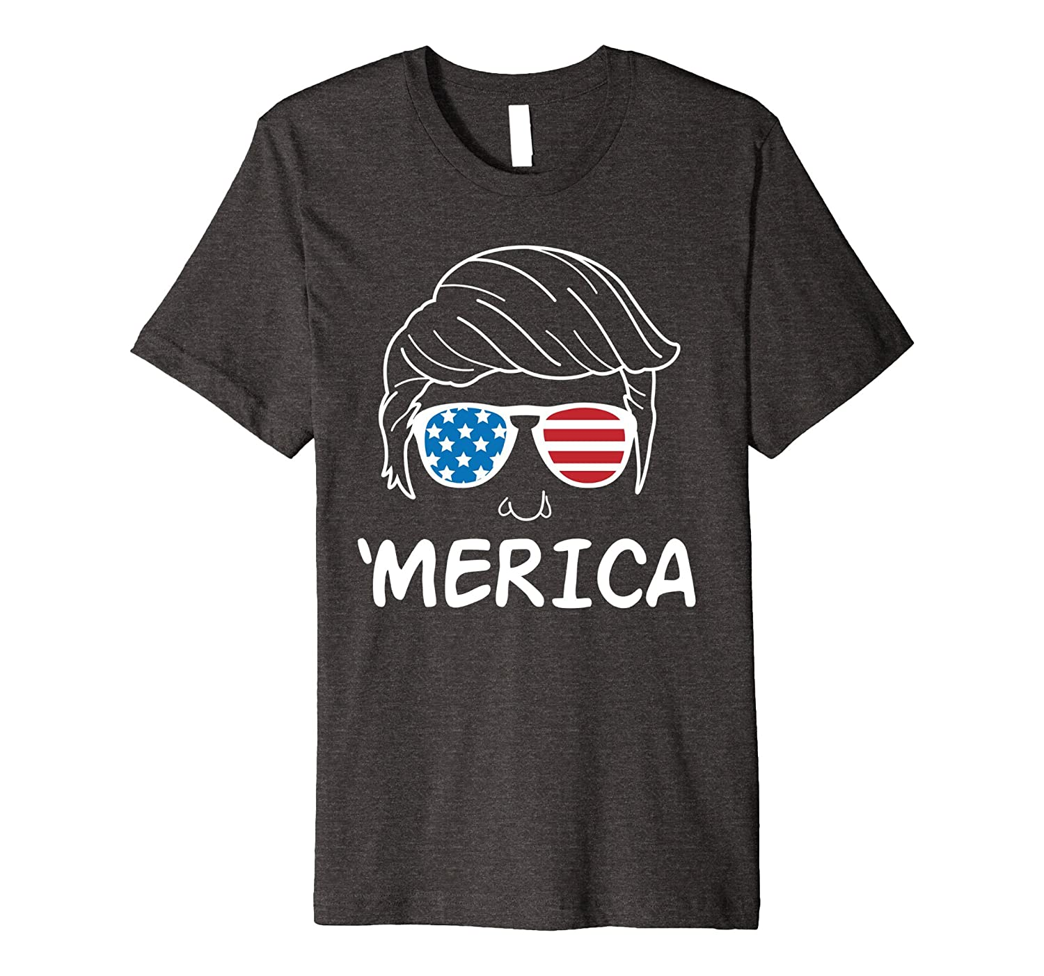 Merica Donald Trump T-Shirt-Art