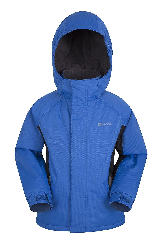 Mountain Warehouse Raptor Kids Snow Jacket - Snowproof Winter Coat Cobalt 7-8 Years