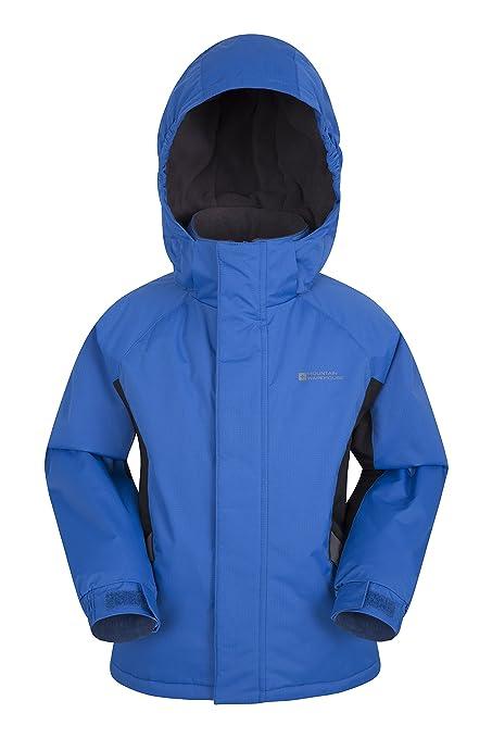 89d3c4cddd6 Mountain Warehouse Raptor Kids Snow Jacket - Winter Ski Coat Cobalt 9-10  Years