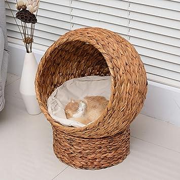 Amazon.com: Zazza95shop - Cesta de cama para interior y ...