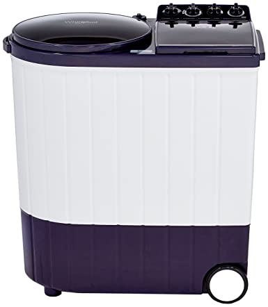 Whirlpool 9.5 kg Semi-Automatic Top Loading Washing Machine (ACE 9.5 XL, Royal Purple)