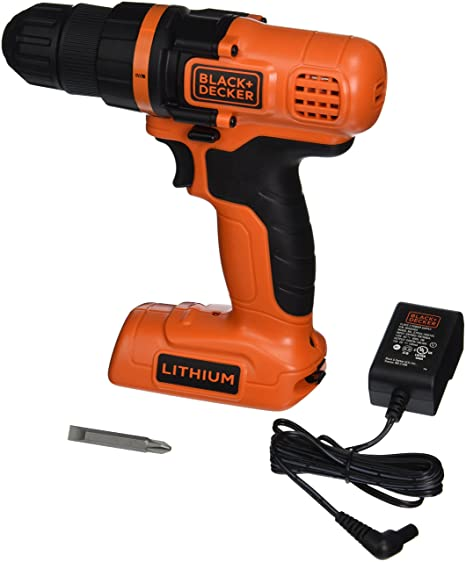 Black & Decker LDX172C power screwdriver/mpact driver 550 ...