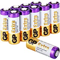 GP Batteries Pila de 12V Modelo 23A / A23- Baterías MN21 / V23GA (Pack de 10)