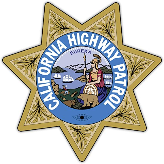 STICKER CIVIL California Highway Patrol C