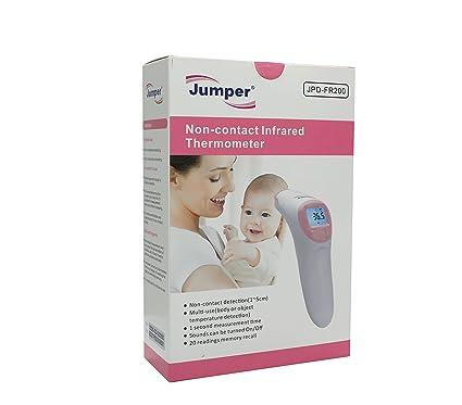 Jumper Medical JPD-FR200 Termómetro Digital y Infrarrojo sin contacto