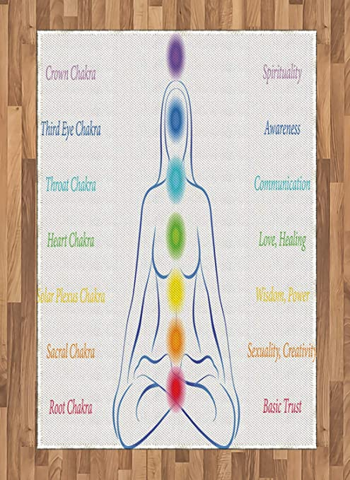 Abakuhaus - Alfombra de Yoga (impresión Digital, 120 x 180 ...