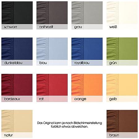 aqua-textil Viana sábana Bajera Ajustable algodón, Rojo Burdeos 90x200 bis 100x200 cm: Amazon.es: Hogar