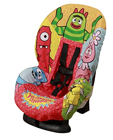 Amazon.com: Yo Gabba Gabba Car Seat Cover (Discontinued by ...