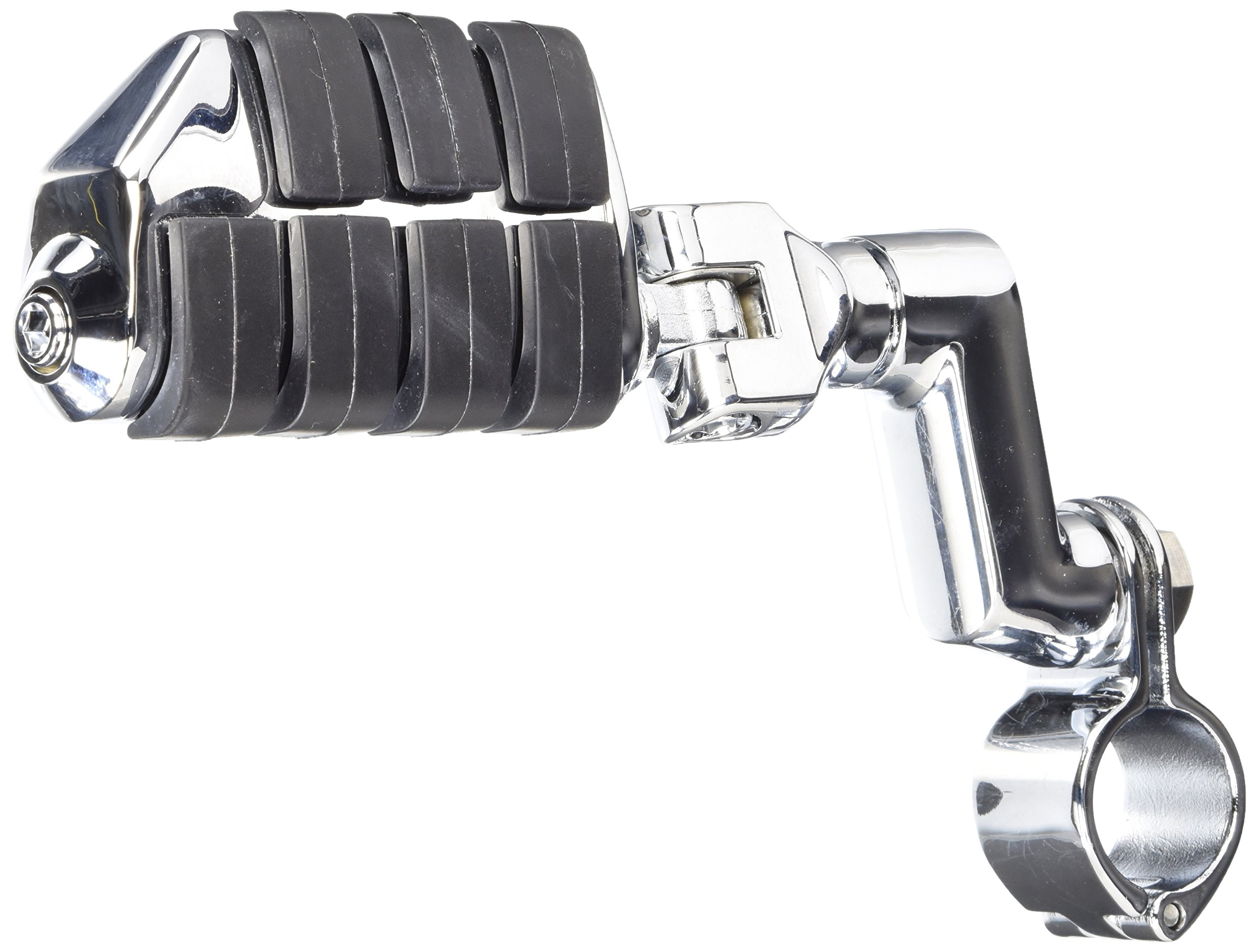 Kuryakyn 7993 ISO Dually Highway Pegs with Offset Mounts and 1-1/4'' Magnum Quick Clamps