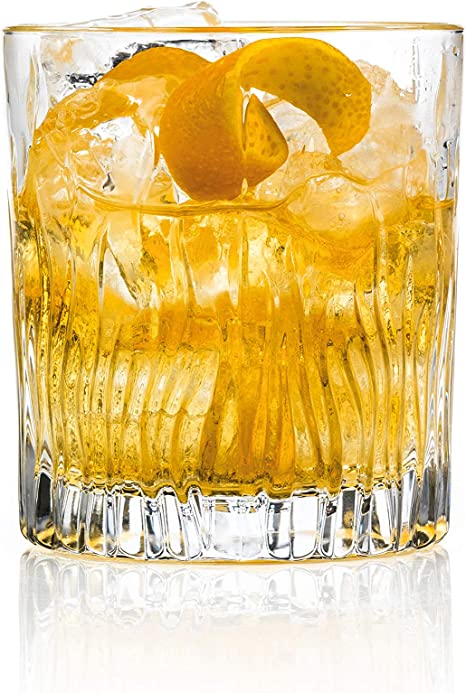 Amazon Com Rcr Fire Crystal Short Whisky Water Tumblers Glasses 240 Ml Set Of 6 Champagne Glasses
