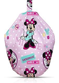 Minnie Mouse Disney Handmade Kids Bean Bag Cotton Multi Colour
