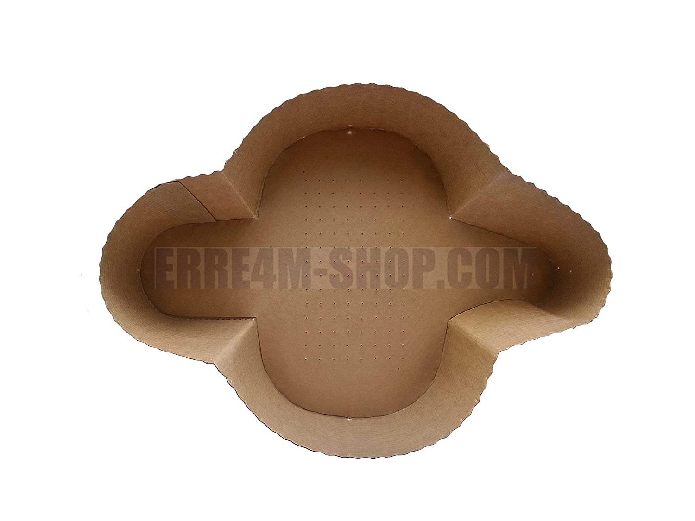 5/unidades Molde de papel de horno para Paloma de Pascua de 500/g Erre4m